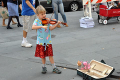 violin (greenelent) Tags: violin music kids streets children 365 photoaday brooklyn nyc