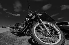 B/W Bike (Tim @ Photovisions) Tags: motorcycle bike monochrome blackandwhite fujifilm xt2 fuji