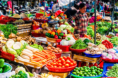 Phu Quoc, Vietnam (Kevin R Thornton) Tags: vegatables d90 phuquoc market nikon travel street people daymarket vietnam food duongdong thànhphốphúquốc tỉnhkiêngiang vn