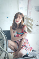 TOM01181 (HwaCheng Wang 王華政) Tags: 蘇 托托 人像 外拍 md model portraiture sony a9 ilce9 35za 2470gm 70200gm 廢墟 ruin
