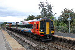 158866 + 158857 (ANDY'S UK TRANSPORT PAGE) Tags: trains bamford eastmidlandtrains class158