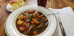 Ox Tail Soup (jeffreyw) Tags: soup dinner gravy oxtails lunch carrots potatoes stew instantpot hotrolls dinnerrolls