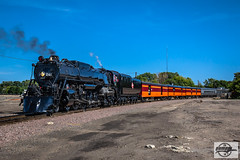 Eastbound TCWR-MILW 261 2018 AAPRCO Convention Special Passenger Train at Minneapolis, MN (Mo-Pump) Tags: train railroad railfan railroader railway railroading railroads locomotive