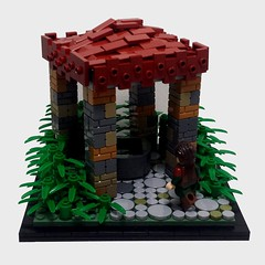 The Well (Ty S.) Tags: jungle lego well plant bamboo tile