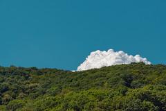 A Shy Cloud (pni) Tags: cloud sky forest hillside rhein rhine ger18 germany deutschland pekkanikrus skrubu pni