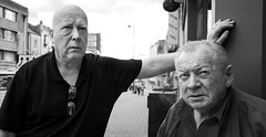 The Dudes (Bone Setter) Tags: bullringtavern digbeth birmingham oldmen smoking irish pub drinking