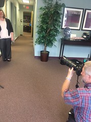 Neptune Society Jacksonville, FL - Photo Shoot for Florida Times-Union Article