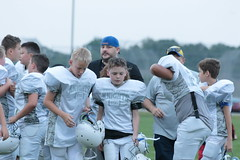 _G1A6713 (bubbaonthenet) Tags: 08232018 practice 6 stma community education 6th grade youth tackle football team 1 white saint michael minnesota 2018 middle school sport sports