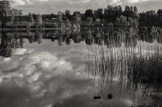 Lake Reflection Sky