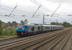 68020 3H12 (DM47744) Tags: class 68 68020 trans pennine express railway railways euxton train travel traction locomotive new mk5 carriage set longsight trains transport track transportation rail railroad drs direct services 3h12