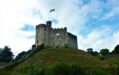 Up on the Hill! (springblossom3) Tags: cardiff castle wales tourism wall history