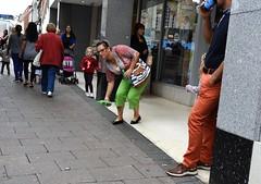 Dropped (Bury Gardener) Tags: burystedmunds suffolk england eastanglia uk streetphotography street streetcandids candid candids strangers people peoplewatching snaps 2018 nikond7200 nikon cornhill