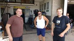 Mechanics who fixed my bike, Sinj, Croatia (robjordan) Tags: suha splitskodalmatinska croatia