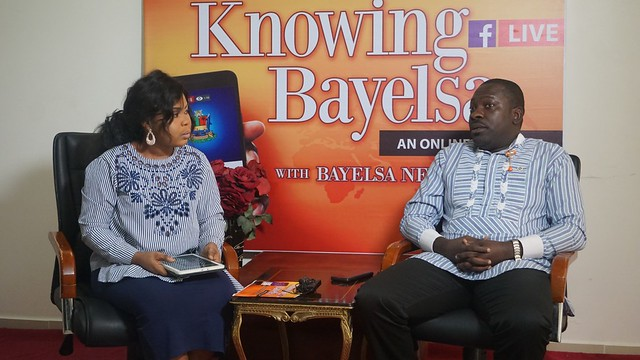 HSDickson - MD Bayelsa Airline At the ongoing Knowing Bayelsa Program.16th August 2018
