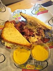 Righteous Ruben (Brave Heart) Tags: eatout mustard sandwich beachhutdeli righteousruben ruben righteous