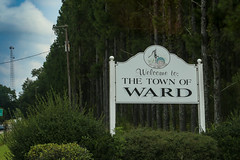 Welcome to Ward, S.C. (DT's Photo Site - Anderson S.C.) Tags: canon 6d 24105mml lens wardsc saluda county southcarolina small town southern america usa village rural country roads midlands pastoral disappearing scenic landscape classic rfd main street hiway summer august