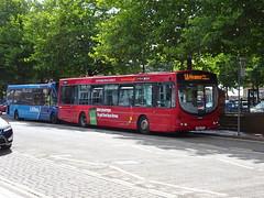 trent barton 654 Ripley (Guy Arab UF) Tags: trent barton 654 fn04hta scania l94ub wright solar bus ripley market place derbyshire wellglade buses wellgladegroup