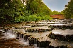 Waterfall in Buckingham (russell.ranklin) Tags: cascade rocks ouse river university buckinghamshire water 1018mm 12mm f22 2seconds shutter slow wideangle 77d canon bridge park chandos buckingham weir waterfall