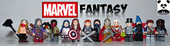 Marvel Fantasy [CONTEST] (Random_Panda) Tags: lego figs fig figures figure minifigs minifig minifigures minifigure purist purists character characters comics superhero superheroes hero heroes super comic book books marvel avengers hawkeye toy thor mcu cap captain america iron man scarlet witch doctor strange falcon hulk nick fury peter parker spider spiderman howard tony stark steve rogers fantasy contest