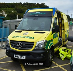 South East Coast Ambulance HART Team MB Sprinter 4x4 WX18 GVY (policest1100) Tags: south east coast ambulance hart team mb sprinter 4x4 wx18 gvy