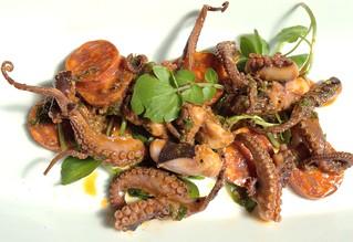 Homemade Octopus Salad
