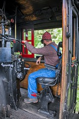 The Hogger Seat (KD Rail Photography) Tags: sr4501 tennesseevalleyrailroad southernrailway southern sou4501 southern4501 steam servethesouth steamlocomotive tennessee tennesseevalley chattanooga manandmachine baldwinlocomotiveworks trains railroads transportation 282
