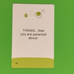 Card 9 (Pookie_Monster) Tags: things you paranoid about boo
