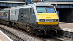 MK 3 82304 (JOHN BRACE) Tags: 1988 brel derby built mk 3 dvt 82304 82130 renumbered 2008 when converted work with class 67 locos has been fitted generator seen london marylebone station chiltern railways livery