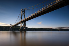 Mid-Hudson Bridge (Jemlnlx) Tags: canon eos 5d mark iv 5div 5d4 ef 1635mm f4 l is usm wide zoom lens bridge water long exposure tiffen bw gnd nd graduated neutral density filter mid hudson kaal rock park poughkeepsie new york state ny nys