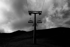 IMG_6525 (Mark Holton.) Tags: switzerland mountains cow clouds cloudy blackandwhite bw trees schweiz landscape sky
