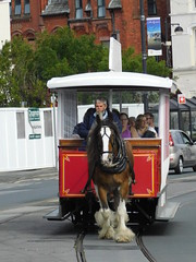 Douglas Bay Horse Tramway: Kewin and Car 45, Sea Terminal (24/07/2018) (David Hennessey) Tags: douglas bay horse tramway kewin car 45 sea terminal