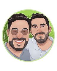 luisarmando (WONKAMONART) Tags: ilustracion illustration drawing gayart love gay cartoon wonkamon digitalart