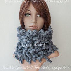 Knit Cowl Grey Sale Sacrf Unisex Octopus Cowl Scarf Textured Unusual Unique / Ladies Neckwarmer / Designer Cowl / Fantasy/ Knitted Tube Scarf (tianache) Tags: scarf knit knitted handmade medusa etsy gift octopus chunky cowl wrap cozy tan sale sacrf unisex textured unusual unique ladies neckwarmer designer fantasy tube knits crochet wool yarn fashion snood giftideas charcoal