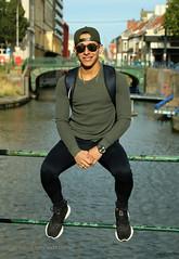 IMG_2139h (Defever Photography) Tags: malemodel male portrait venezuela ghent belgium city waterside canal river