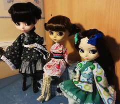 Kimono Wa (it's_a_secret) Tags: pullip yuki chan gothic lollita sailor mars ala dolls jun planning groove