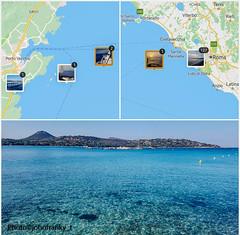 Traversata Roma-Plage de Santa Giulia (Corsica) - Crossing Rome (Italy) to Plage de Santa Giulia (Corsic) (8) (johnfranky_t) Tags: mare johnfranky t mar tirreno costa cielo azzurro localizzazioni boe
