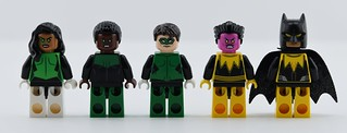 Regular LEGO Lantern corps minifigs + Yellow Batman Lantern⭐