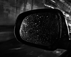 Some people walk in the rain, others just get wet. (panditsanchayan) Tags: bnwcaptures bnw flickr raindrops delhimonsoon indianmonsoon monsoon rain