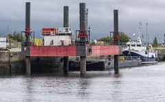 HAVEN SEARISER (fordgt4040) Tags: havenseariser red7marine jackupbarge jameswattdockgreenock inverclyde westofscotland westcoast