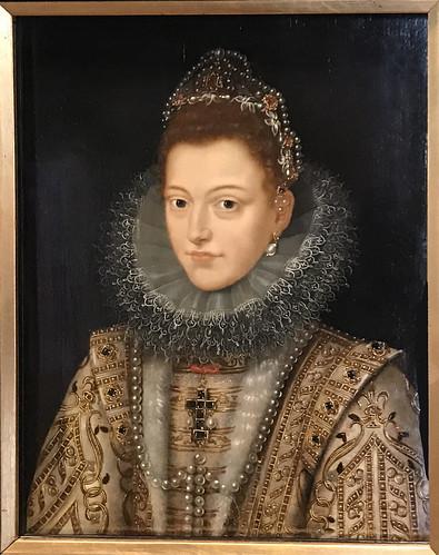 Portrait of Isabel Clara Eugenia, Regent of Flandes  ca. 1598