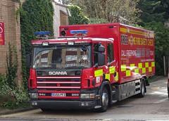 Hemel Hempstead - W107 - EU55 PFZ (999 Response) Tags: hertfordshire fire and rescue service hemel hempstead w107 eu55pfz decontamination environment protection unit