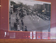 Independence Square - Denny's (indepsquare) Tags: dennys courthouse exchange dining eating food meal wine beer alcohol eat independence mo missouri harry truman square indy history historic old jackson county parade photo wall