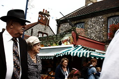 Hatted (leftyguk) Tags: sheringham norfolk sigma30mm14 canon760d 1940sweekend