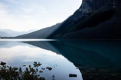 Lights on Lake Louise. (marcella.cavelli) Tags: canada britishcolumbia alberta squamish whistler banff jasper clearwater sky falls tree hike hiking trail trip snow lake wood ab bc