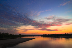 Last Lights (Slav.Burn) Tags: sunset dusk river vistula sky skylights skycolors toruń poland pentaxart pentax