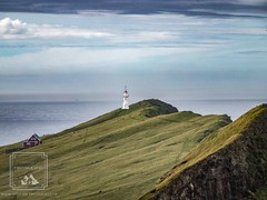 Mykines Lighthouse (fentonphotography) Tags: faroeislands mykines lighthouse greengrass landscape seascape graysky cloudyday