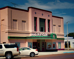 The Norton (Rusty Karr) Tags: kansas movietheater cinema movie palace hollywood small town popcorn pop soda goobers neon sign marquee