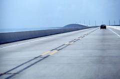 Florida keys (jlp771) Tags: florida key bridge car route road olympus film kodachrome sky horizon