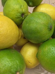 Lemons & Limes (joncutrer) Tags: ingredients cooking grocerystore vegetables food edible groceries produce royaltyfree cc0 green yellow lemon lime fruit