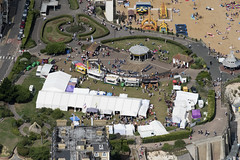 Broadstairs Folk Week in Victoria Gardens - Kent UK aerial image (John D Fielding) Tags: broadstairsfolkweek broadstairs park victoriagardens kent above aerial nikon d810 hires highresolution hirez highdefinition hidef britainfromtheair britainfromabove skyview aerialimage aerialphotography aerialimagesuk aerialview drone viewfromplane aerialengland britain johnfieldingaerialimages fullformat johnfieldingaerialimage johnfielding fromtheair fromthesky flyingover fullframe